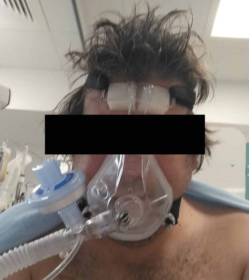 mask What it is like inside a COVID intensive care unit